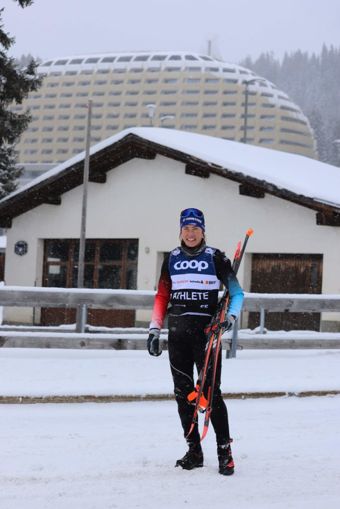 Heimweltcup- Davos Nordic Laurien van der Graaff 2019